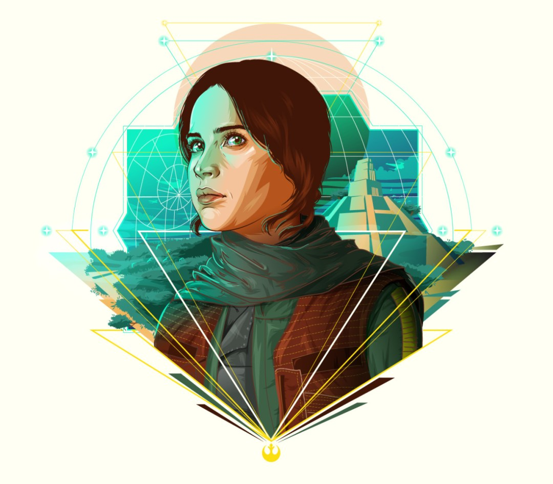 Jyn Erso by Cryssy Cheung