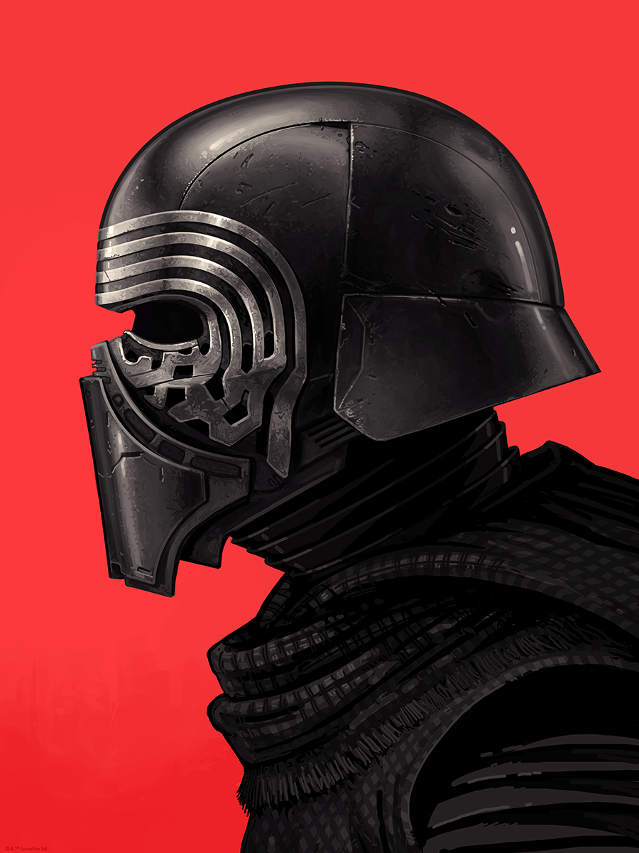 Kylo Ren by Mike Mitchell