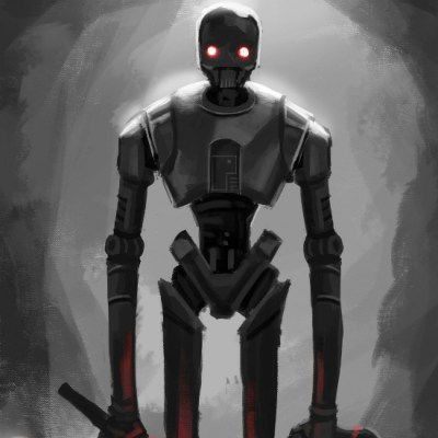 Darth K-2SO by Jean Gueissaz