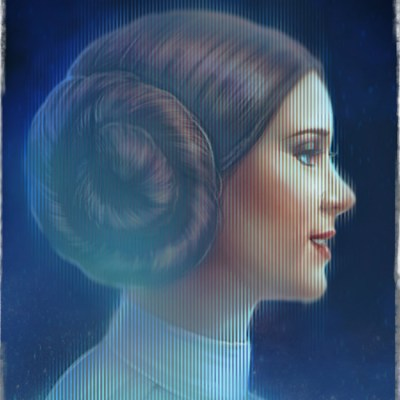Princess Leia by Spider Wee