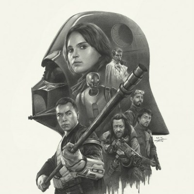 Rogue One Vader Poster by Yin Yuming