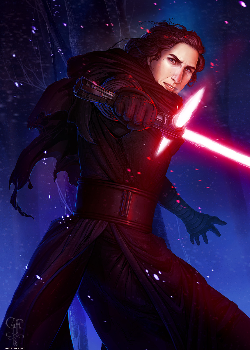 Kylo Ren by Julia Lichty