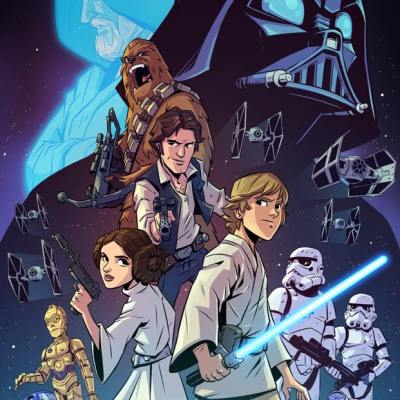 A New Hope Poster by Derek Laufman
