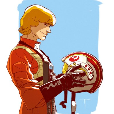 Luke Skywalker by Michael Pasquale