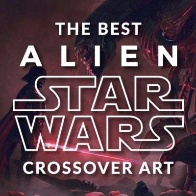 The Best Alien Star Wars Crossover Art