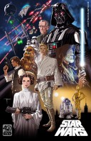 40th Anniversary A New Hope Poster by Michael Pasquale