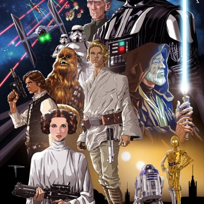 A New Hope Poster by Michael Pasquale