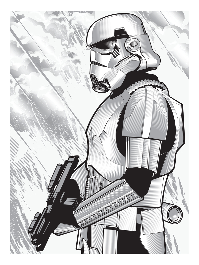 Stormtrooper by Joshua Smith