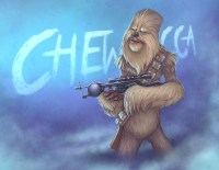 Chewbacca by Rey Paez