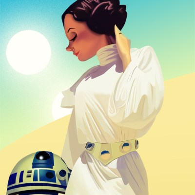 Princess Leia by Gerardo Escamilla