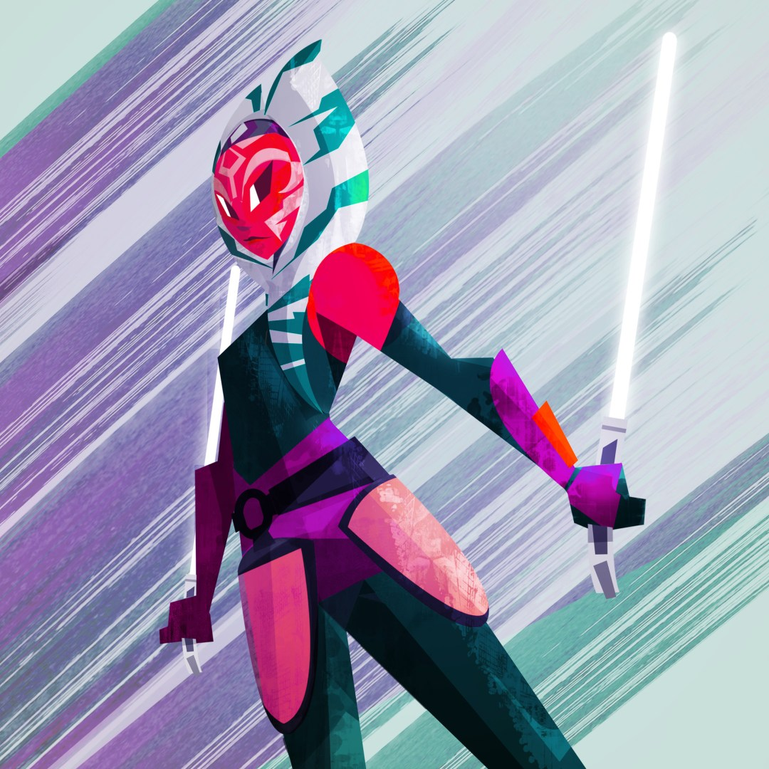 Ahsoka Tano by Sam Elkana