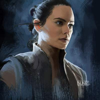 Rey by William Nunez