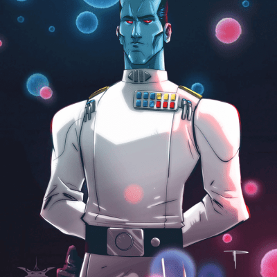 Admiral Thrawn by Michael Pasquale