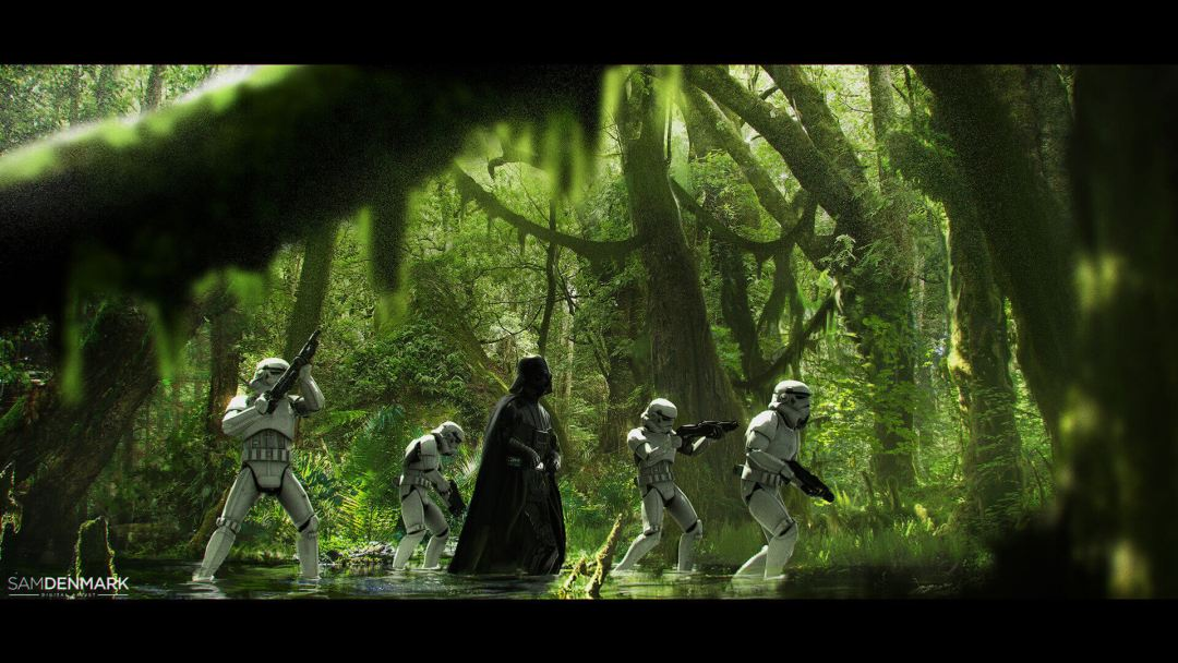 Endor by Sam Denmark