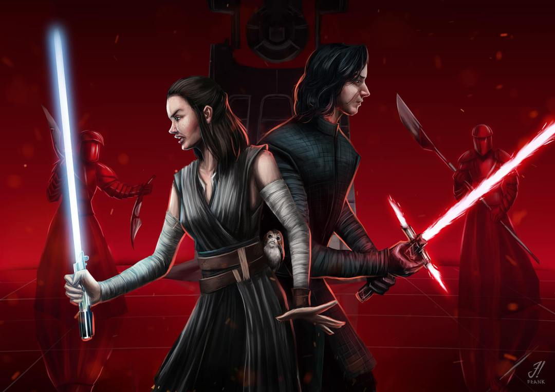 Rey & Kylo by Franklin Fernandes