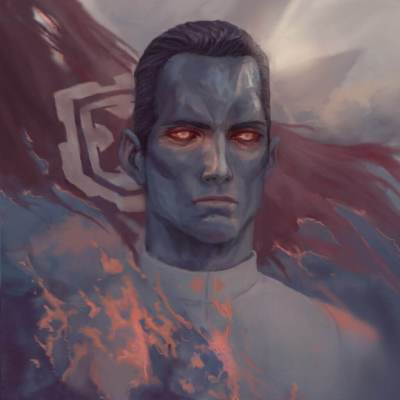Grand Admiral Thrawn by Ymirr