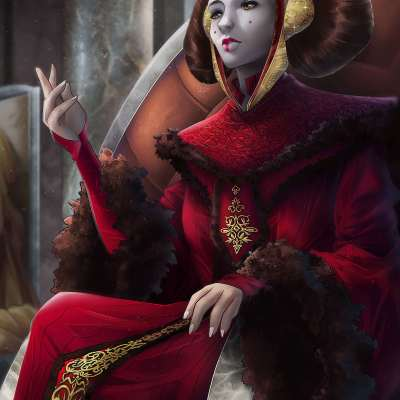 Queen Amidala by Totemos