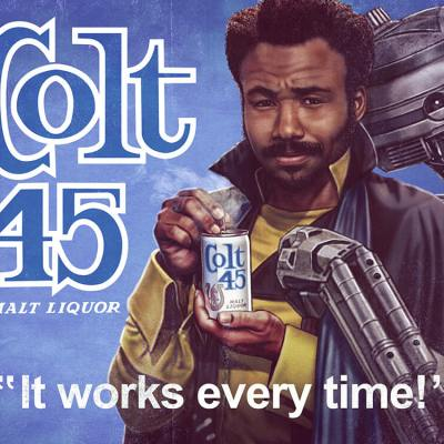 Colt 45 by Eddie Holly