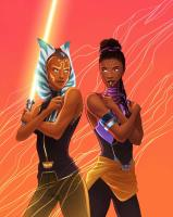 Ahsoka and Shuri by Hannah Payne