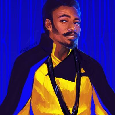 Young Lando by Ashlee Casey