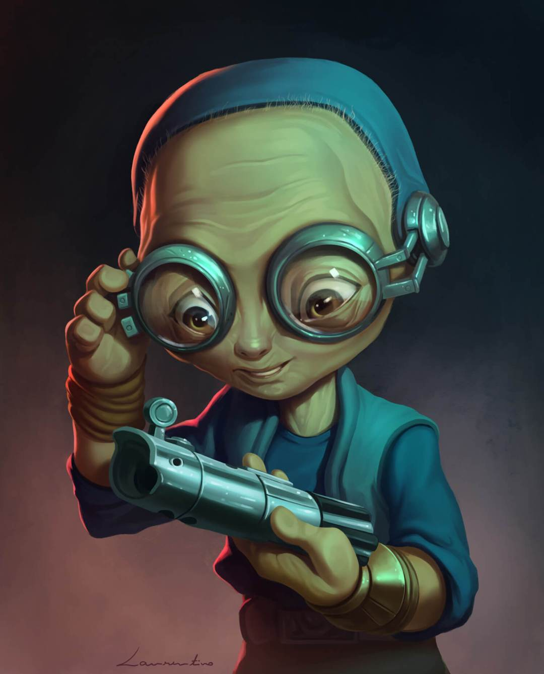 Maz Kanata by Filipe Laurentino