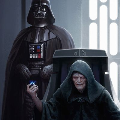 Vader & The Emperor by Darren Tan