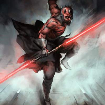 Darth Maul by Guillaume Menuel