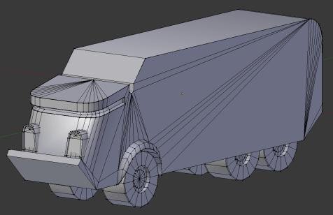 Konvoy Portfolio: Corporate Truck