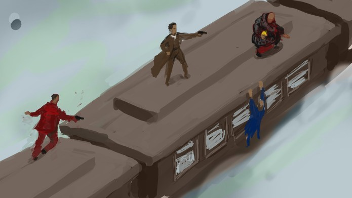 PIB Concept Art - Train demo scene original