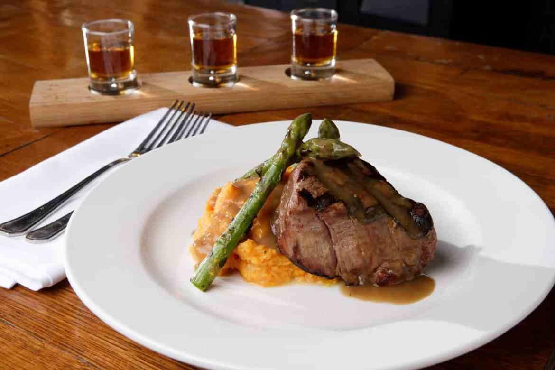 Bourbons Bistro steak