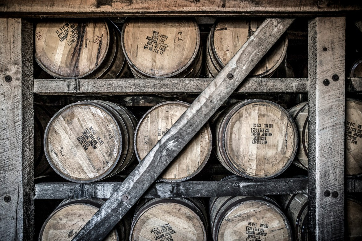 Wild Turkey Warehouse Barrel Shot - Bourbon Passport Tour - Central