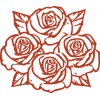 roses icon - Four Roses