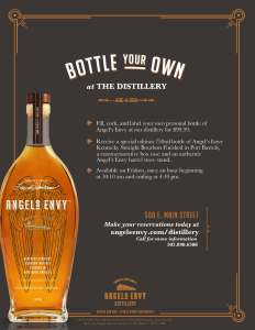 "AngelsEnvy BottleYourOwn 232x300 - Angel's Envy Adds A ""Bottle Your Own"" Bottle Option"