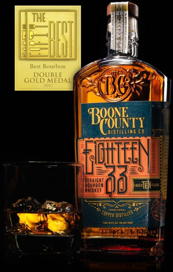 Boone County Dbl Gold - Boone County Distilling Co. Wins Double Gold at San Francisco World Spirits Competition