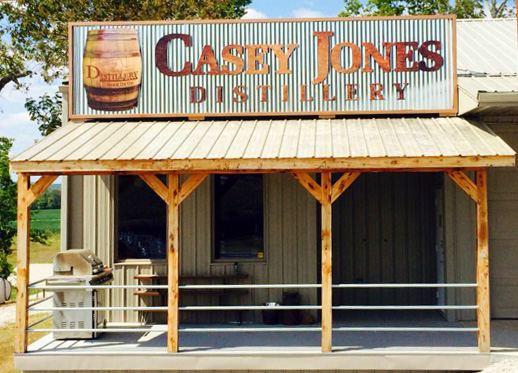 Casey Jones Distillery Front - Moonshine and Music