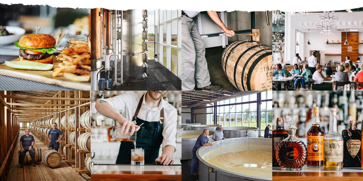 Bardstown Bourbon company image collage