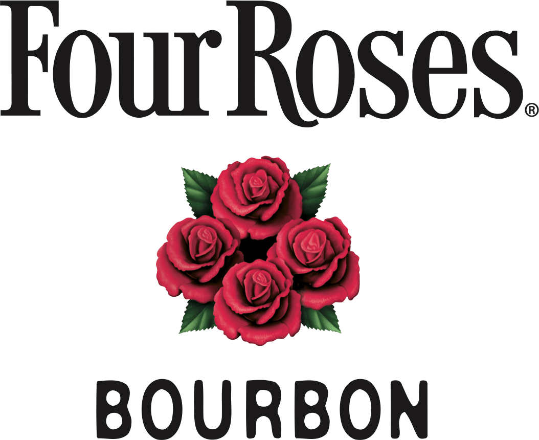 Four Roses Logo - Four Roses Blooms as the Official Bourbon of the Rose Bowl Stadium