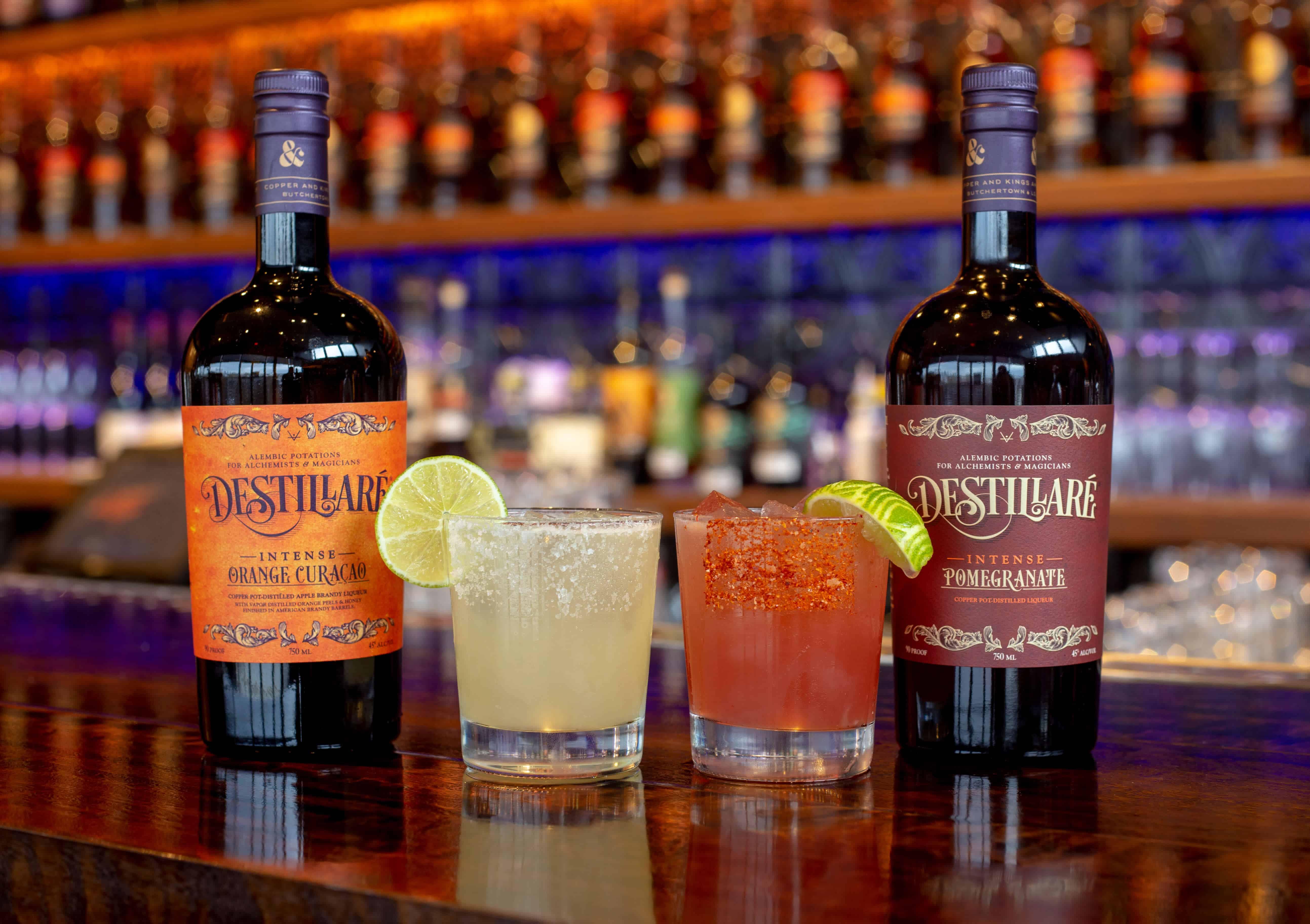 both drinks destillare - Margarita Day Party