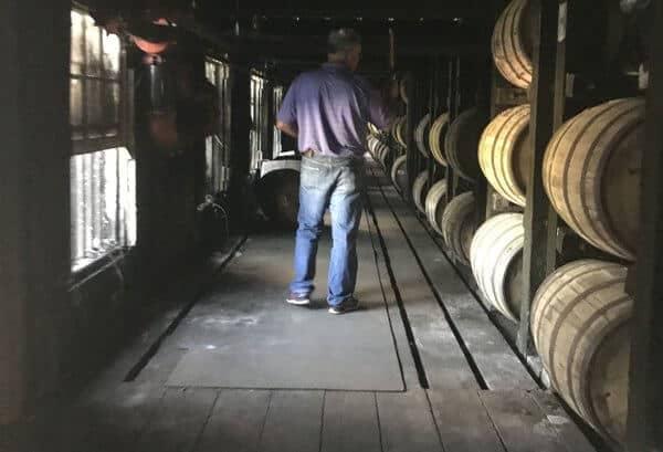Eddie Russell rickhouse - Wild Turkey Single Barrel Selection