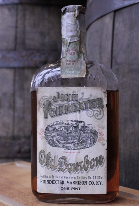 "Poindexter 692x1024 - Rare, Prohibition-Era ""Dusty Bottle"" Whiskeys now sold at the Frazier"