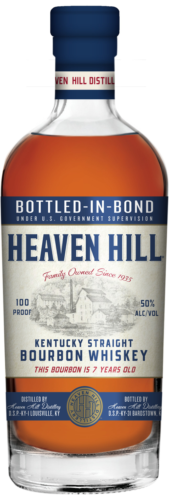 HH BIB Bottle - Heaven Hill Distillery Launches Historic, Bottled-in-Bond Namesake Bourbon