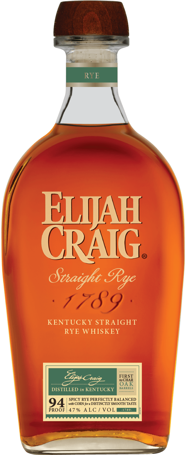 EC Rye 750ml StraightOn - Elijah Craig Launches Kentucky Straight Rye Whiskey in Limited Markets