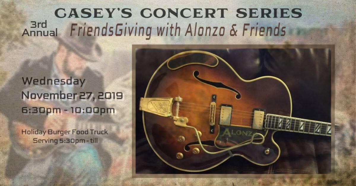 Alonzo Friends - 3rd Annual FriendsGiving with Alonzo & Friends
