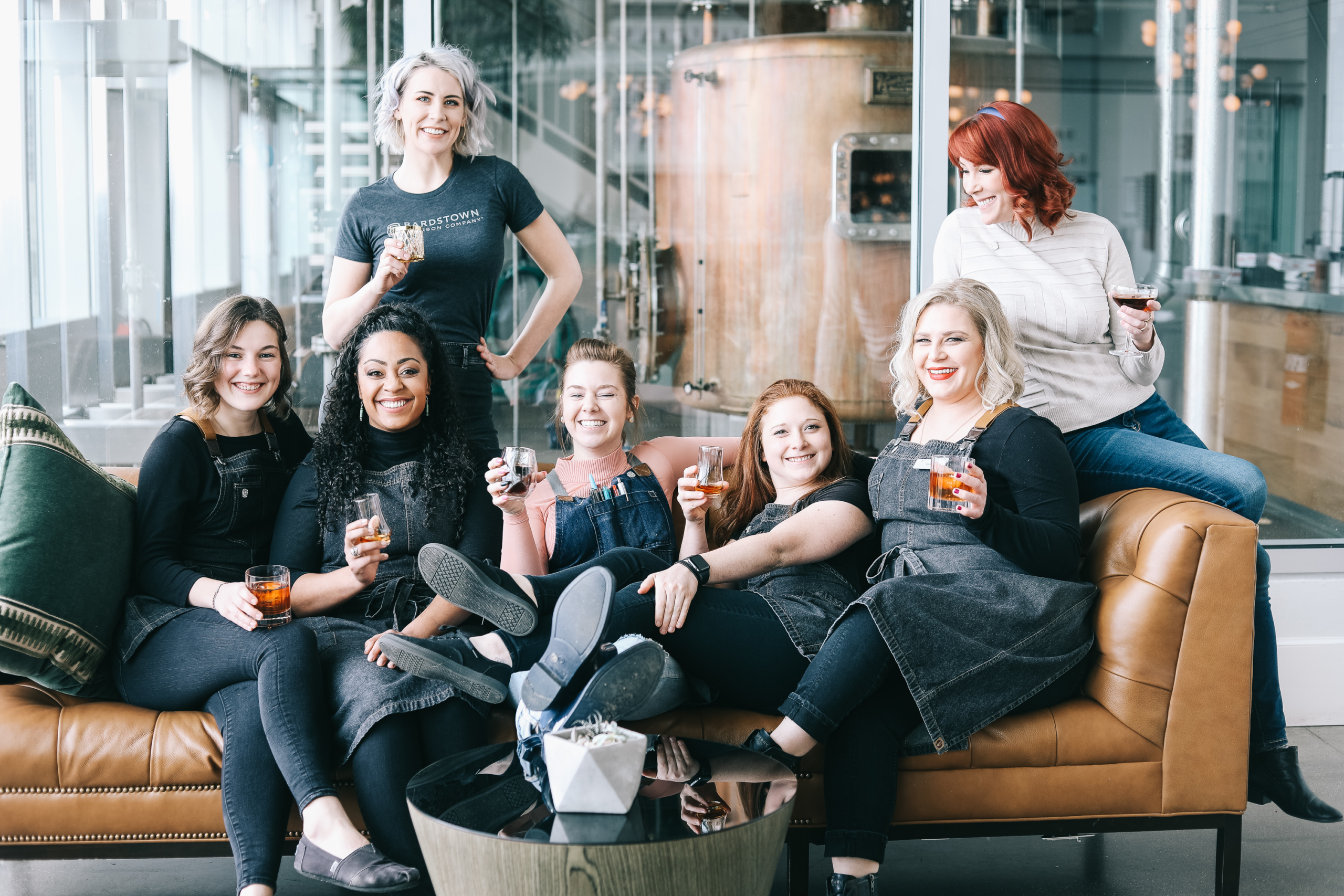 Bottle Bond female bar staff courtesy Bardstown Bourbon Company2 scaled - Bardstown Bourbon Company launches first Women of Bourbon Cocktail Competition March 24