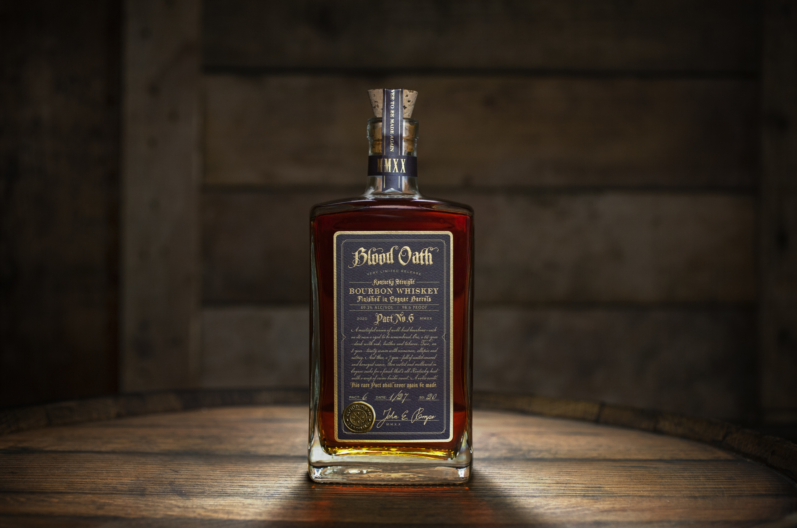 Blood Oath Pact 6 scaled - Blood Oath Pact No. 6 Launches This Spring Finished in Cognac Barrels