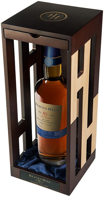 HH85th BoxAngle R1 - Heaven Hill Distillery Announces Release of Limited-Edition Heaven Hill 85thAnniversary Single Barrel Kentucky Straight Bourbon Whiskey