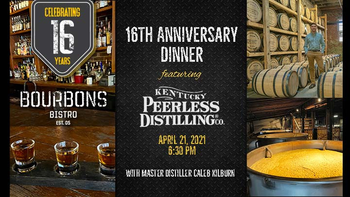 BB - Bourbons Bistro 16th Anniversary Dinner