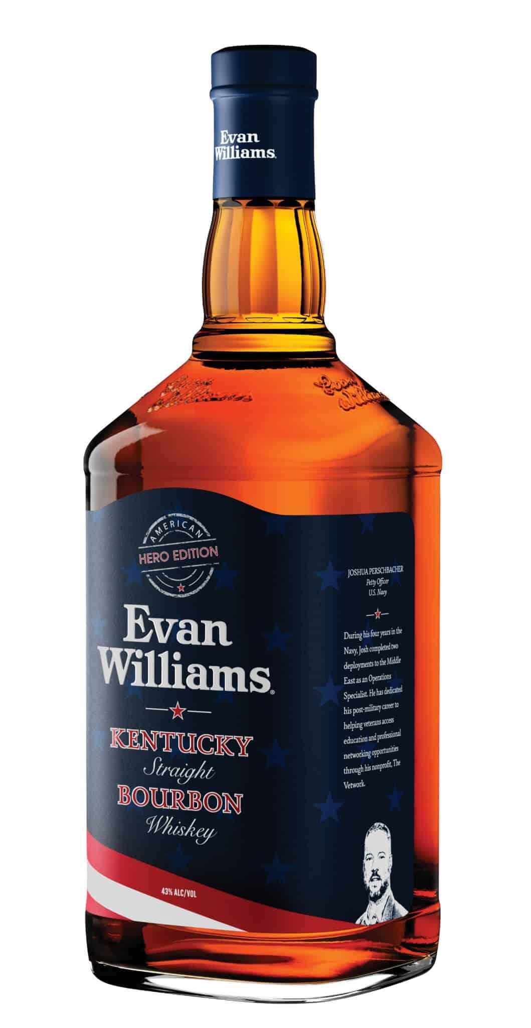 EWAMH LeftFacing 1.75L 2021 - Evan Williams Bourbon Announces 2021 American-Made Heroes