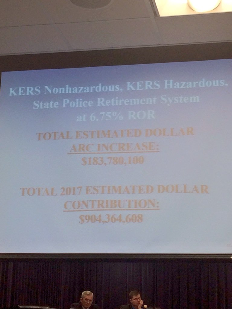 krs arc with lowered rate of return