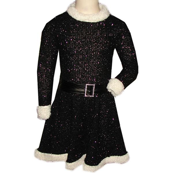 Jurk zwart kerst
